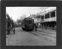 Image of 01842 - Opening Day Trolley Line