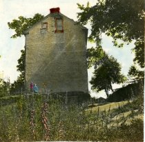 Image of 00001.01 - William Roger's House-East View (North Wall)