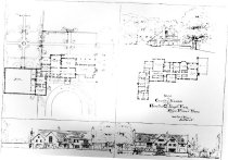 Image of 1351 - Architectural Drawing