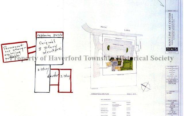 1996101 Blueprint For Main Line Art Center