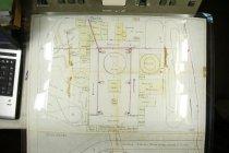 Image of 2009.01 - c 1900 map/blueprint Beechwood Amusement Park of Hav Twp