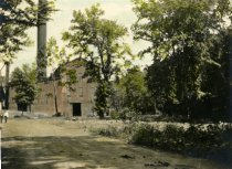 Image of Power House, site of the old Saw Mill 1917