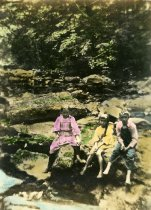 Image of 00086.167 - Rock along Cobbs Creek by the Spring