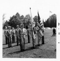 Image of CD067 - Civil Defense Auxiliary Police Outdoor Ceremony