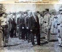 Image of Haverford Township Police Inspection 1963