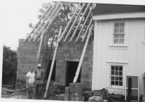 Image of HL116 - Flintlock - Back view of construction progress1962 addition.