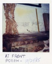 Image of HL128 - Flintlock - Front wall front porch 1985