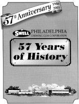 Image of 57th Anniversary Philadelphia Chewing Gum Corp