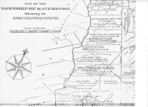 Image of Map showing early Grants and Patents