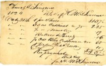 Image of Receipt HMP Lawrence 1824