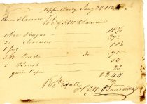 Image of Receipt for suplies1824