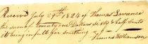 Image of Thomas Williamson Smithing 1824