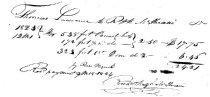 Image of Receiptfor Lumber 1823-1824