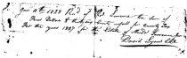 Image of LW062 - County Tax Receipt
