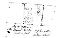 Image of William Pruitt Receipt1828