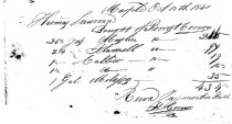 Image of LW109 - Receipt for cloth