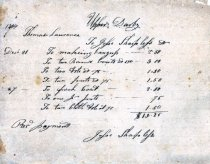 Image of LW125 - Receipt for Clothing
