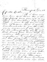 Image of LW169 - Family Letter
