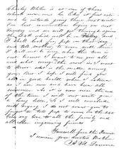 Image of Personal Letter page 2