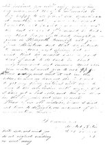 Image of Thoams Lawrence letter from Gwynedd