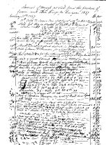 Image of LW230 - Amount of money received from the produce of farm and other things for the year 1847