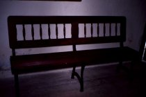 Image of Haverford Twp School Bench Restored 1978