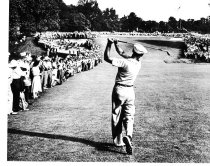 Image of 18th Hole at Merion - Ben Hogan 1951