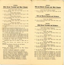 Image of 2013.04.04 - Philadelphia and West Chester Traction Company Timetable 1907