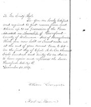 Image of LW252 - Letter to Mr. Cristy Kyle for repossession of the farm.
