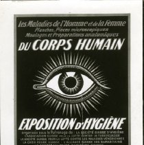 Image of Photographs of posters for Health Exhibits. From 1924, 1925 and years unspecified.  Posters form France, Sweden, Germany and possibly other European countires.