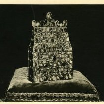 Image of Photographs of German medieval art treasures. All black and white.