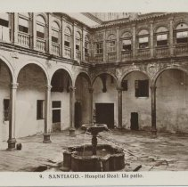 Image of Santiago- Hospital Real: Un patio