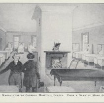Image of Ward in MA General Hospital, Boston -