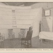 Image of Old operating amphitheatre in dome of MA General Hospital, Boston -