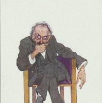 Image of Caricature- Psychologist
