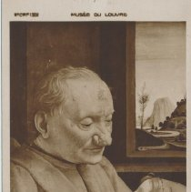 Image of Vieillard and his little son -