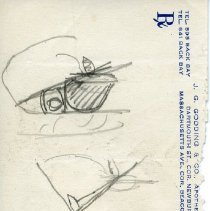 Image of Colon Surgery - Sketches of a surgery on the colon. 4 pieces