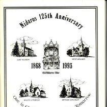 Image of Nidaros 125th anniversary 1868-1993. -