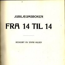 Image of Fra 14 Til 14 - Hilsen, Einar