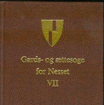 Image of Gards og Ættesoge for Nesset : VII - Skorgen, Bjarne