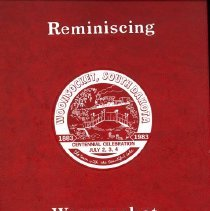 Image of Reminiscing : a centennial history of Sanborn County and Woonsocket. - Woodard, Charles, ed.