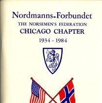 Image of Nordmanns-Forbundet, Chicago Chapter, 1934-1984 - Fletre, Helen Editor