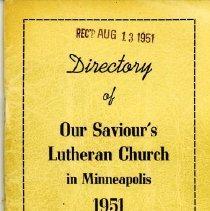 Image of Our Saviour's Lutheran Church, Minneapolis, Minnesota, Director 1951 -
