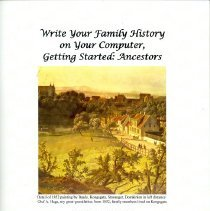 Image of Write Your Family History on Your Computer, Getting Started:  Ancestors - Haga, Enoch J.