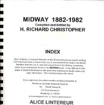 Image of Midway : 1882-1982 : Index - Christopher, H. Richard