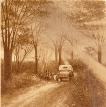 Image of Auto on County Road-1918