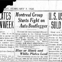 Image of Automoblile News-1924