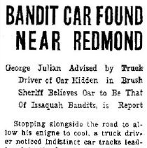 Image of Abandoned Bandit Car