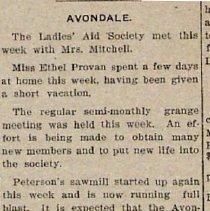 Image of Avondale News