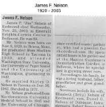 Image of 2009.014.011 - Obituary